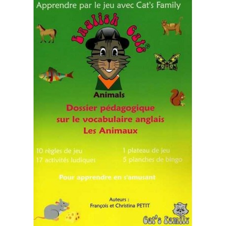 English Cats - Animals - Dossier pédagogique
