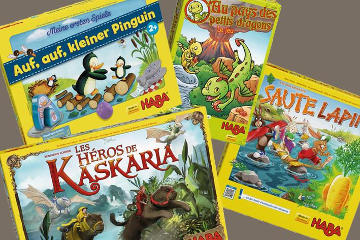 Jeux Haba : Kaskaria, petits dragons