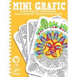 Mini Grafic Coloriages mandalas