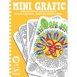 Mini Grafic Coloriages mandalas