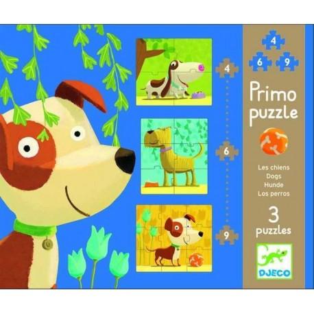 Primo puzzle - les chiens