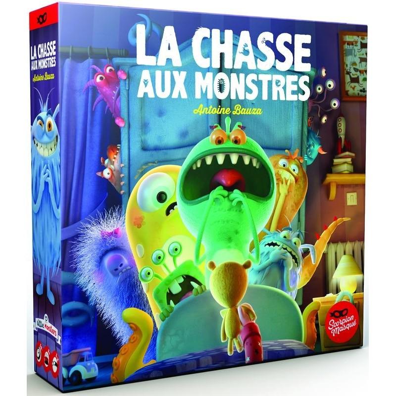 La chasse aux monstres, jeu de société édité par Le sorpion