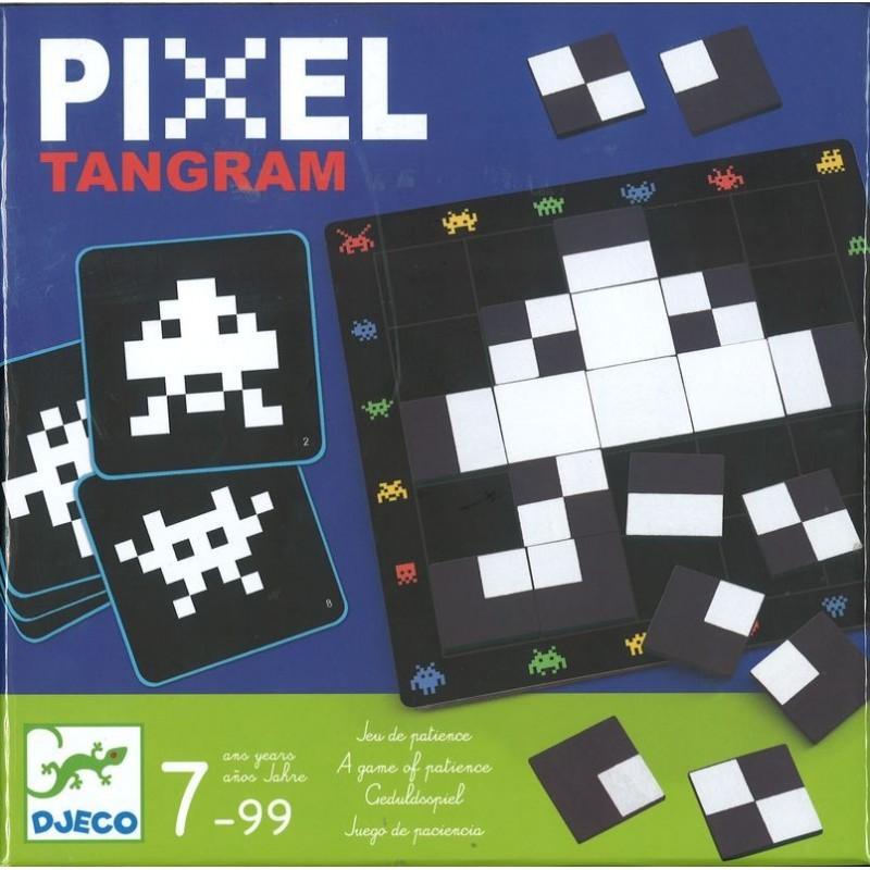 Pixel Tangram Jeu De Logique Et De R 233 Flexion Spatiale