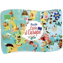Puzzle carte d'Europe