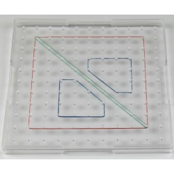 Geoplan transparent grand format (Geoboard)