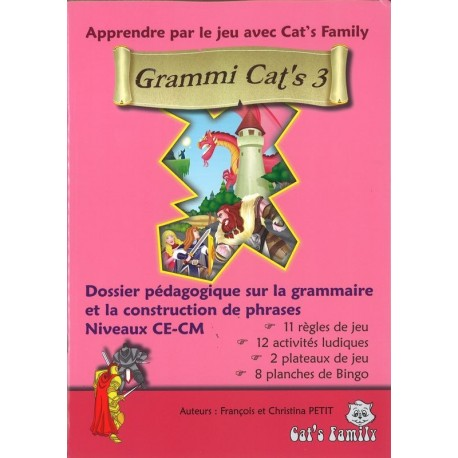 Grammi Cat's III, dossier pédagogique Cycle 3