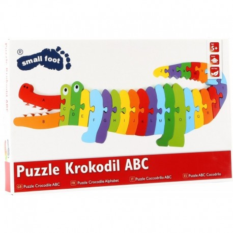 Puzzle Crocodile Alphabet