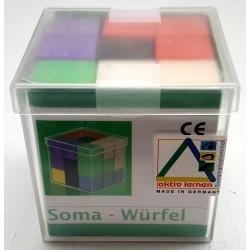 Cube soma en couleur