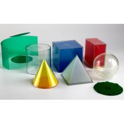 Lot de 5 formes géométriques