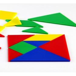 Boîte de 4 Tangrams