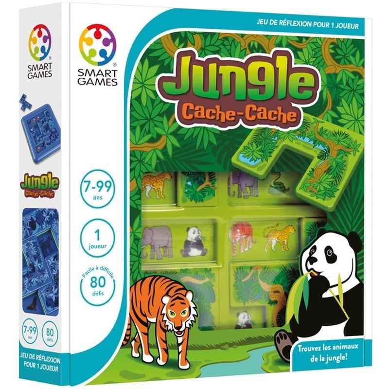 Jungle Cache Cache Jeu Pour Jouer Seul Smart Games
