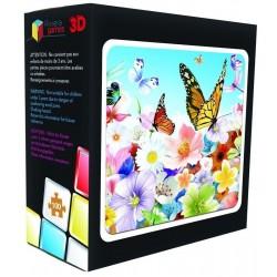 Puzzle 3D - Fleurs
