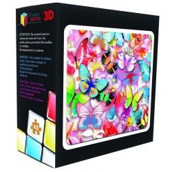 Puzzle 3D - Papillons