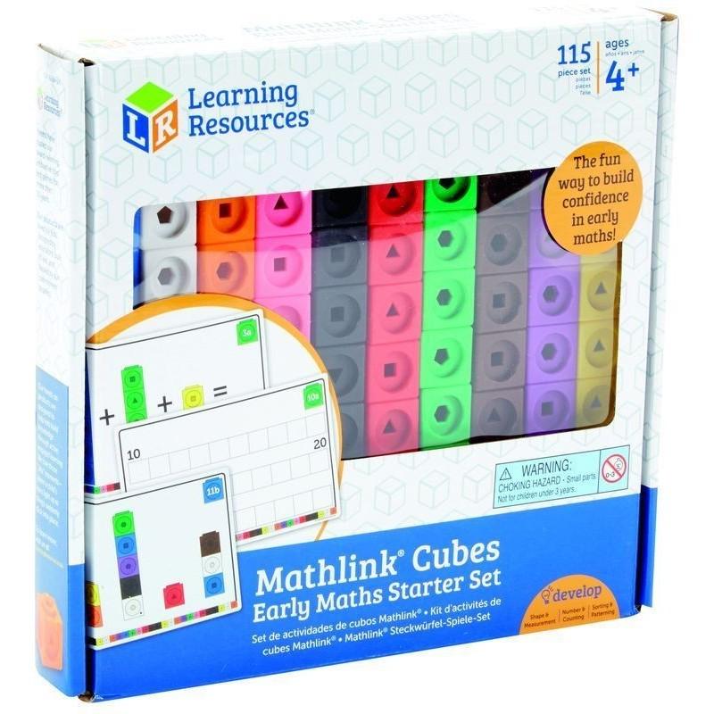 RESSOURCES D/'APPRENTISSAGE Mathlink Cubes activité Set