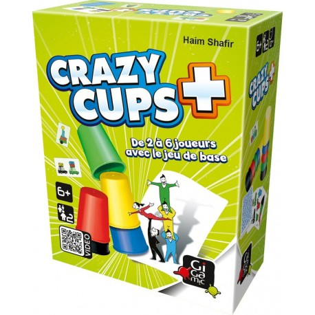 Crazy cups +, l'extension