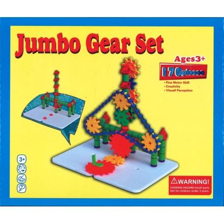 Engrenages - Jumbo Gear Set 170 pièces