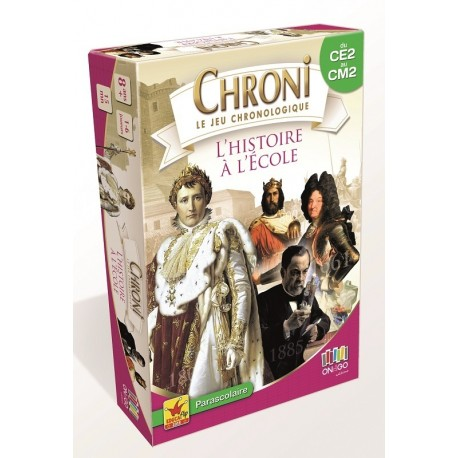 Chronicards,  l'histoire à l'école