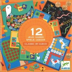12 jeux classiques