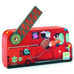 Puzzle Le camion de pompiers