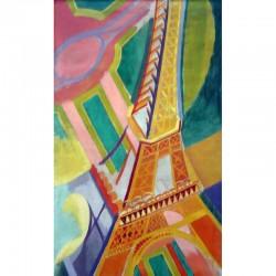 Puzzle La Tour Eiffel, de Robert Delaunay