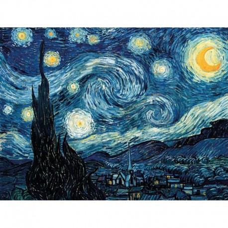 Puzzle Nuit étoilée, de Van Gogh