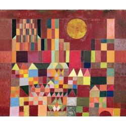 Puzzle Chateau et Soleil de Paul Klee