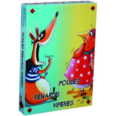 Poules Renard Vipères
