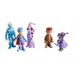 Les personnages du conte - Les 5 figurines des Alphas