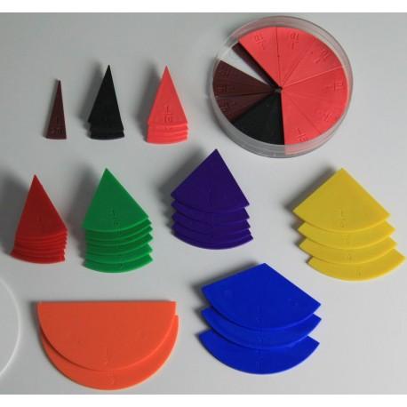 Set de fractions en cercles