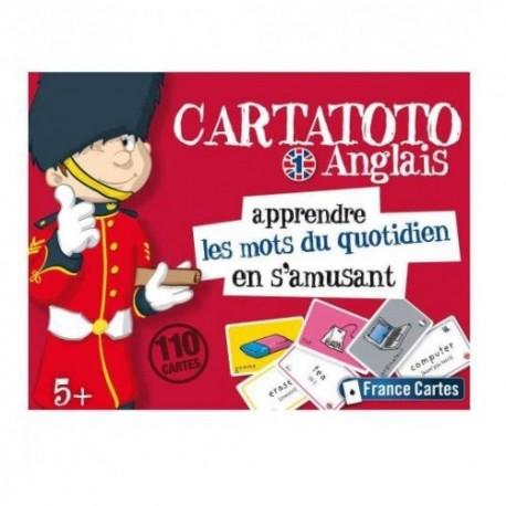 Cartatoto Anglais 1 - Les mots du quotidien