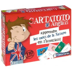Cartatoto Anglais 2 - Les mots de la Nature