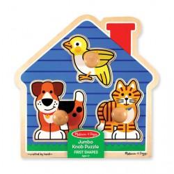 Encastrement des animaux - Puzzle à gros boutons