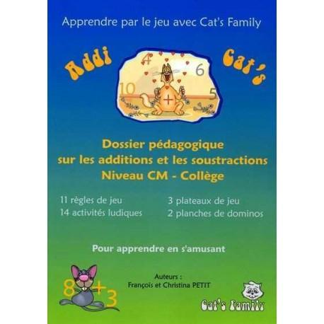 Addi Cat's, dossier pédagogique CM