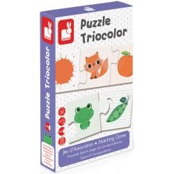 Puzzle Tricolor
