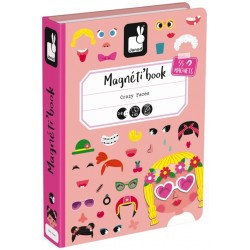 Magnéti'book Crazy Faces Fille