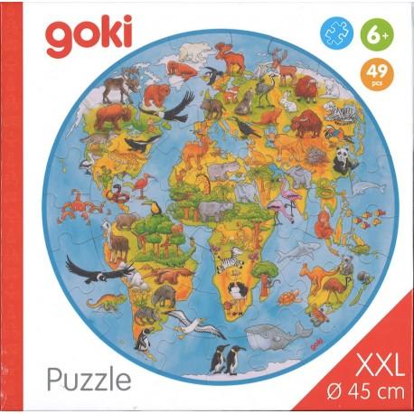 Puzzle XXL le monde