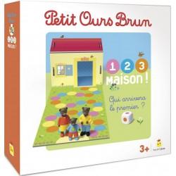 Petit Ours Brun - 1 2 3 maison