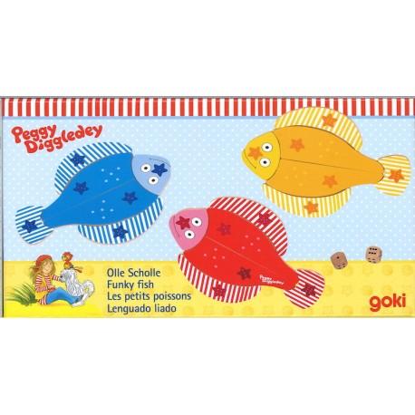Jeu de dés - Les petits poissons