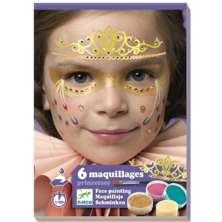 Maquillage Princesse Coffret De Maquillage Peinture Pour Visage