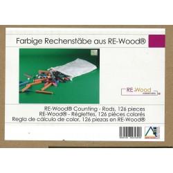Réglettes striées en bois reconstitué