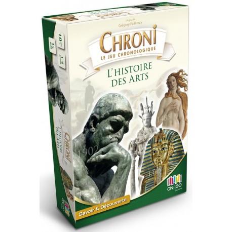Chronicards, l'histoire des arts