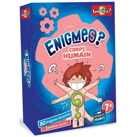 Enigmes ? Le corps humain