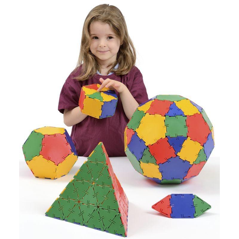 393ec277191 Polydron - Set de classe - Jeu de construction géométrique en 3D ...