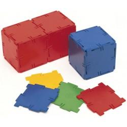 Set 40 carrés Polydron