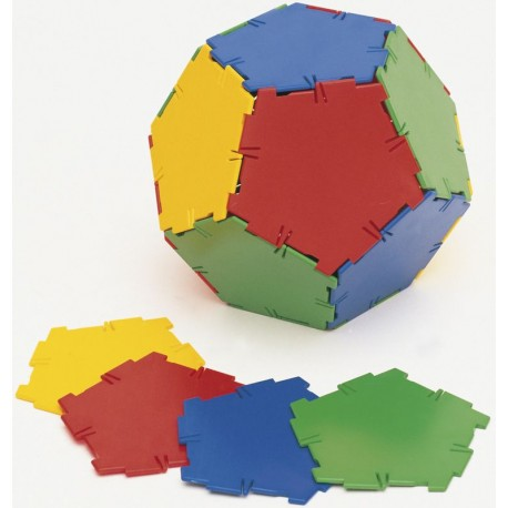 Set 24 pentagones Polydron