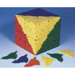 Set 80 triangles à angle droit Polydron