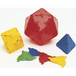 Set 100 triangles équilatéraux Polydron