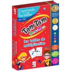 Tam tam Multimax - Coffret Multiplication