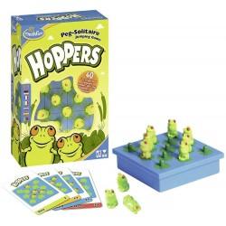 Solitaire des grenouilles (Hoppers)
