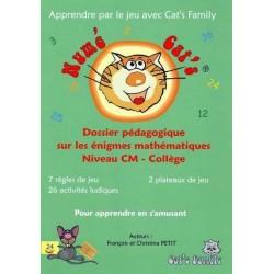 Numé Cat's I - Enigmes, dossier pédagogique CM